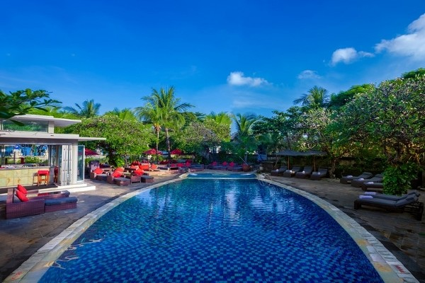 h tel kuta sea view boutique resort spa denpasar bali partir pas cher. Black Bedroom Furniture Sets. Home Design Ideas
