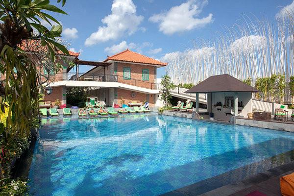 Piscine - Hôtel Maison at C Boutique Hotel & Spa 4* Denpasar Bali