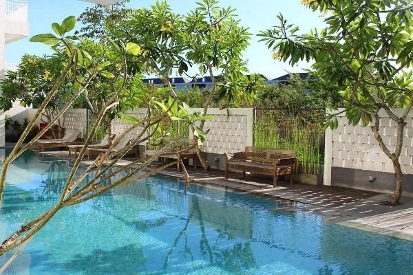 Piscine - Hôtel Paragon Hotel Seminyak 4* Denpasar Bali