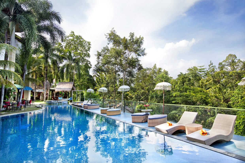 Piscine - The Mansion Resort Hotel & Spa 5* Denpasar Bali