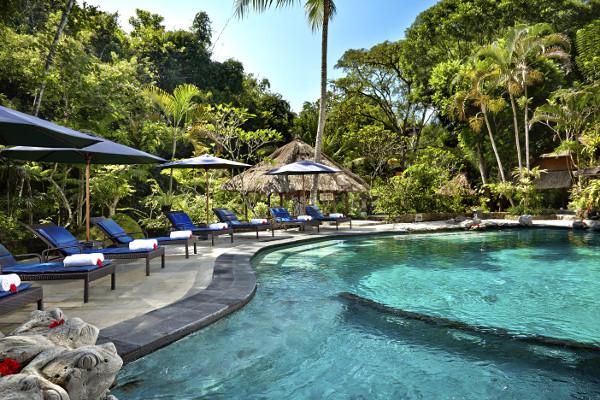 Piscine - Tjampuhan & Spa Charme 4* Denpasar Bali