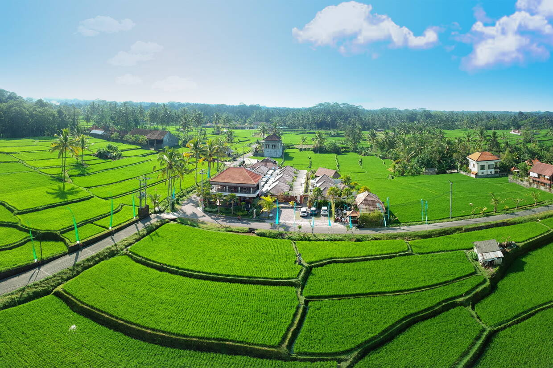 Vue panoramique - Anema Villa Seminyak & Abirama Ubud Villa avec excursions 4* Denpasar Bali