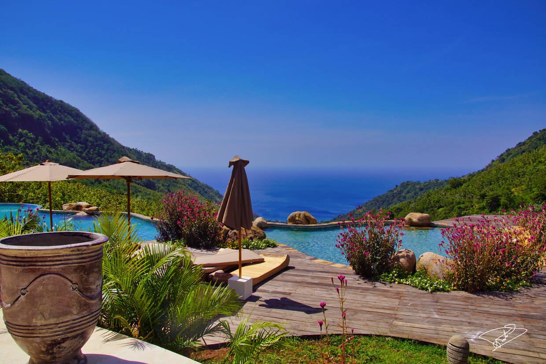 Vue panoramique - Mathis Lodge Amed 4* Denpasar Bali