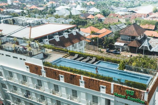 Vue panoramique - Santika Seminyak 4* Denpasar Bali
