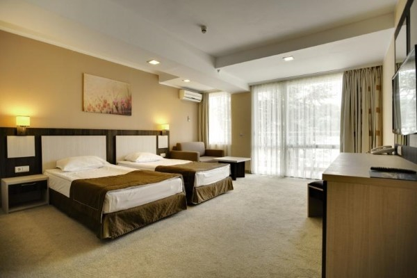 Chambre - Hôtel DIT Evrika Beach Club Hotel 4* Burgas Bulgarie