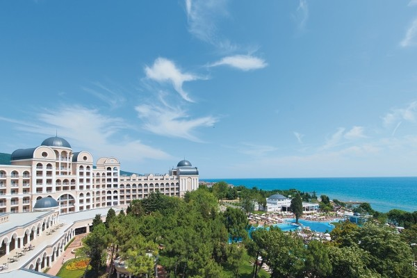 Facade - Hôtel Club Hôtel RIU Helios Paradise 4* Burgas Bulgarie