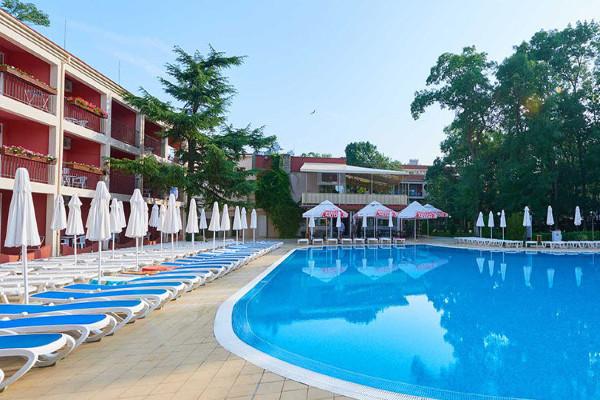 Piscine - Club Coralia Zornica Résidence 4* Burgas Bulgarie
