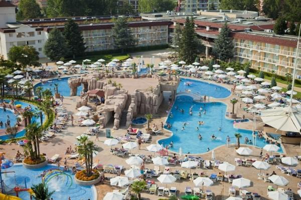Piscine - Hôtel DIT Evrika Beach Club Hotel 4* Burgas Bulgarie