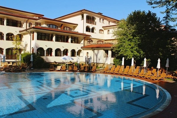Piscine - Hôtel HELENA PARK 5* Burgas Bulgarie