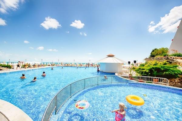 Piscine - Hôtel SUNEOCLUB Helios Beach 3* Burgas Bulgarie