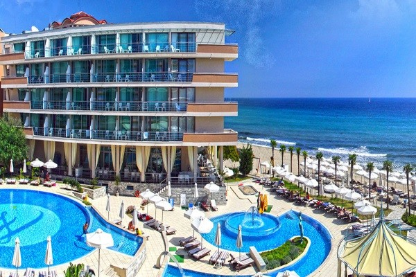 Piscine - Hôtel Zornitza Sands Beach & Spa 4* sup Burgas Bulgarie