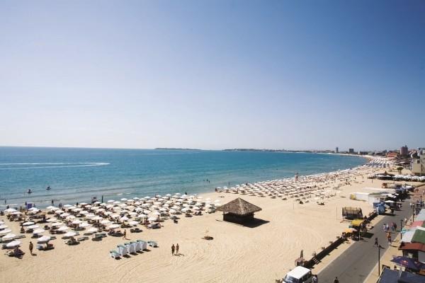 Plage - Hôtel DIT Evrika Beach Club Hotel 4* Burgas Bulgarie