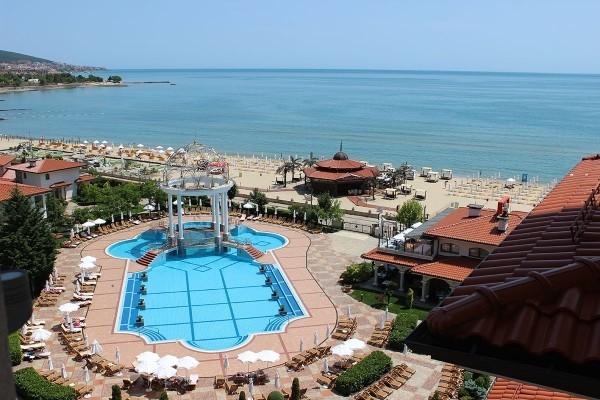 Vue panoramique - Hôtel Helena Sands 5* Burgas Bulgarie