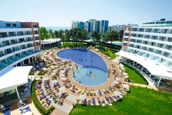 Vue panoramique - Hôtel Riu Helios 4* Burgas Bulgarie