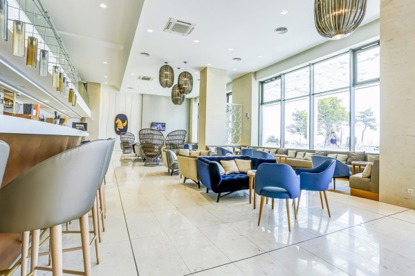 Bar - Hôtel Maritim Hôtel Paradise Blue Albena 5* Varna Bulgarie