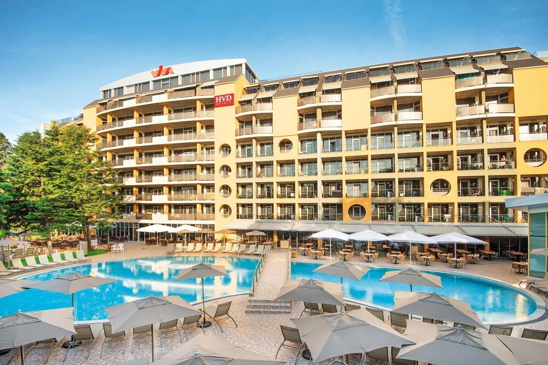 Facade - Hôtel HVD Viva 4* Varna Bulgarie
