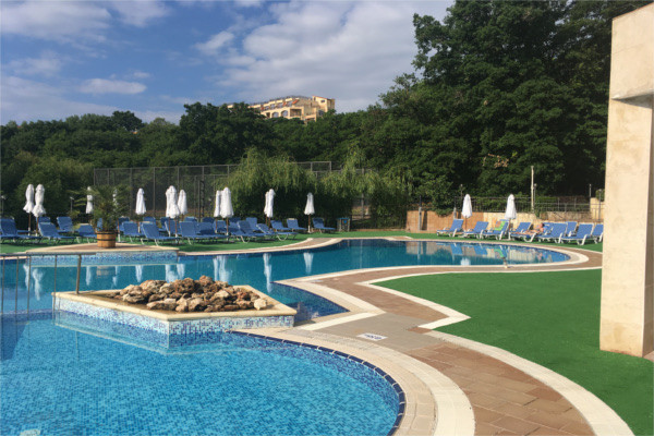 Piscine - Hôtel Top Clubs Holiday Park 4* Varna Bulgarie