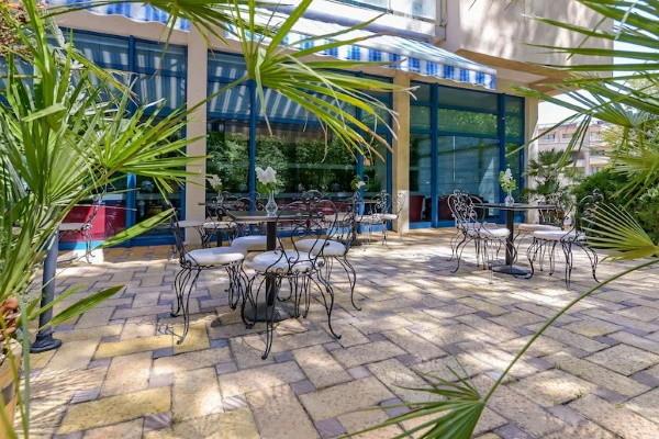 Terrasse - Hôtel Top Clubs Holiday Park 4* Varna Bulgarie