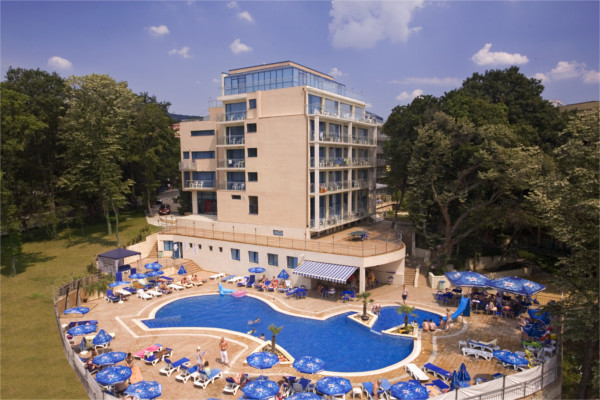 Vue panoramique - Hôtel Top Clubs Holiday Park 4* Varna Bulgarie