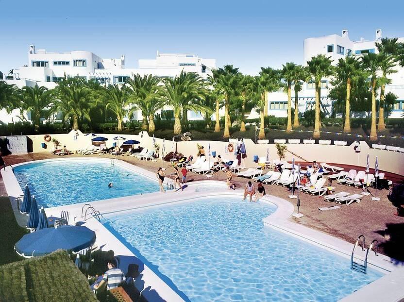 Piscine - Hôtel Aparthotel Costa Mar 3* Arrecife Lanzarote