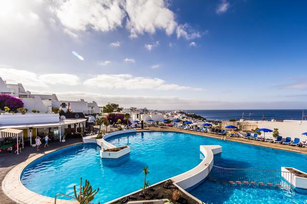 Piscine - Hôtel BelleVue Aquarius 3* Arrecife Canaries