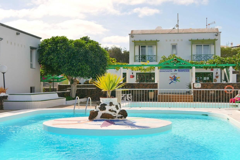 Piscine - Hôtel Guacimeta 2* Arrecife Canaries