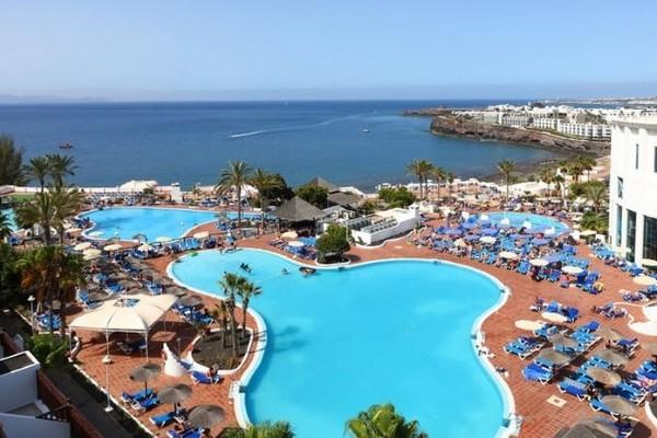 Piscine - Hôtel Sandos Papagayos Beach Resort 4* Arrecife Canaries