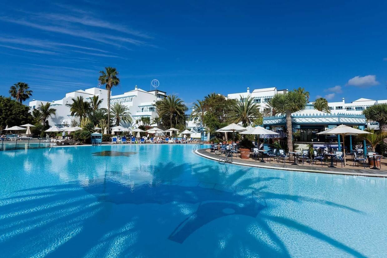 Piscine - Hôtel Seaside Los Jameos Playa 4* Arrecife Lanzarote