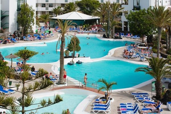 Piscine - Hôtel SUNEOCLUB El Trebol 3* Arrecife Canaries