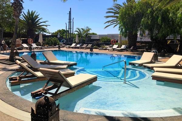Piscine - Hôtel Villa Vik 5* Arrecife Canaries