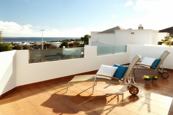 Terrasse - Hôtel Suite Hotel Alyssa 4* Arrecife Lanzarote