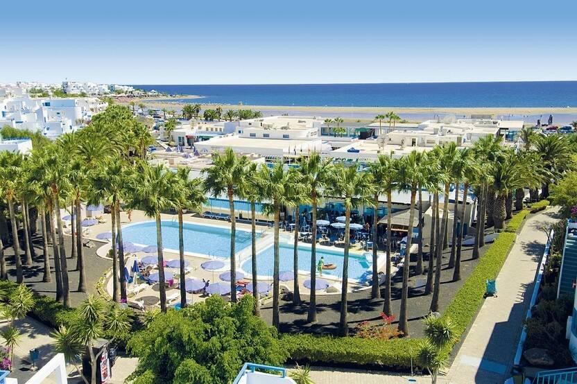 Vue panoramique - Hôtel Aparthotel Costa Mar 3* Arrecife Lanzarote