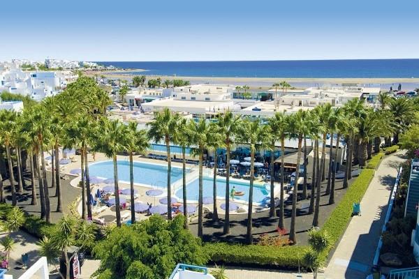 Vue panoramique - Hôtel Aparthotel Costa Mar 3* Arrecife Canaries
