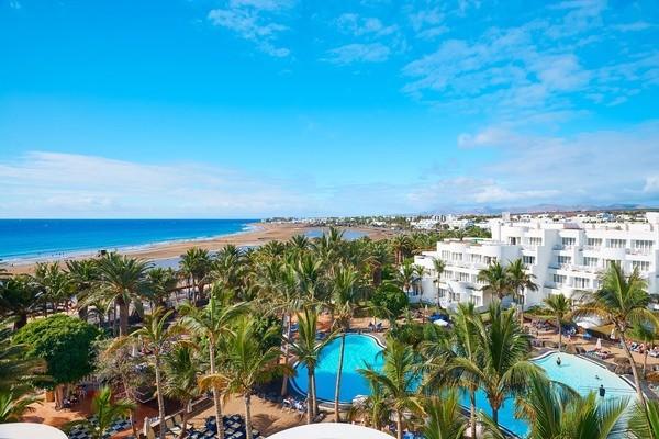 Vue panoramique - Hôtel Hipotel La Geria 4* Arrecife Lanzarote