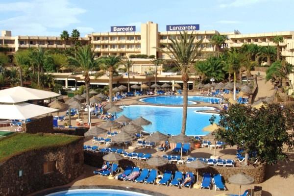 Vue panoramique - Club Oclub Occidental Lanzarote Mar (ex Barcelo Lanzarote) 4* Arrecife Lanzarote