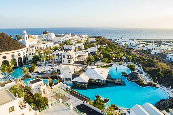 Vue panoramique - Hôtel The Volcan Lanzarote 5* Arrecife Canaries