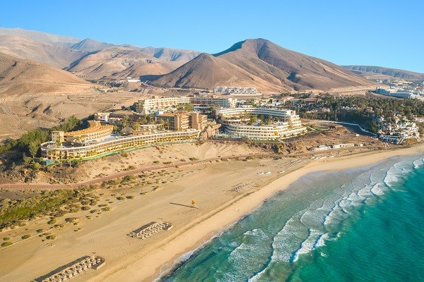 Vue panoramique - Hôtel Iberostar Playa Gaviotas Park 4* Fuerteventura Canaries