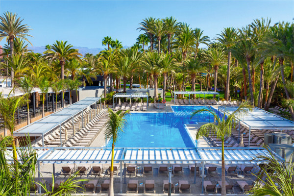 Piscine - Hôtel Riu Palace Oasis 5* Grande Canarie Canaries