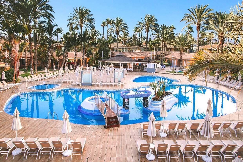 Piscine - Hôtel Suites & Villas by Dunas 4* Maspalomas Grande Canarie