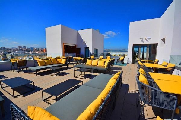 Terrasse - Hôtel Design Plus Bex 4* Grande Canarie Canaries