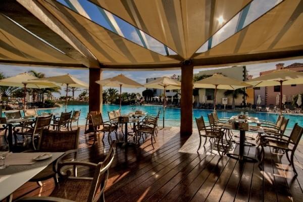 Terrasse - Hôtel Lopesan Villa del Conde 5* Grande Canarie Canaries