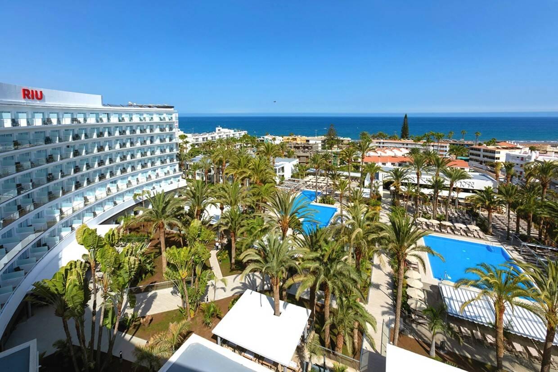 Vue panoramique - Hôtel Riu Palace Palmeras 4* Grande Canarie Grande Canarie