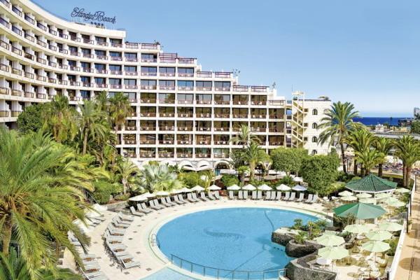 Vue panoramique - Hôtel Seaside Sandy Beach 4* Grande Canarie Canaries