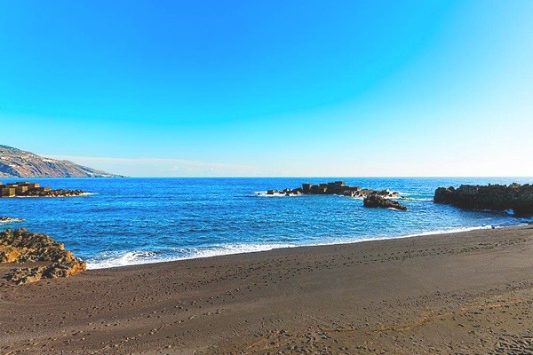 Plage - Hôtel H10 Taburiente Playa 4* La Palma Canaries