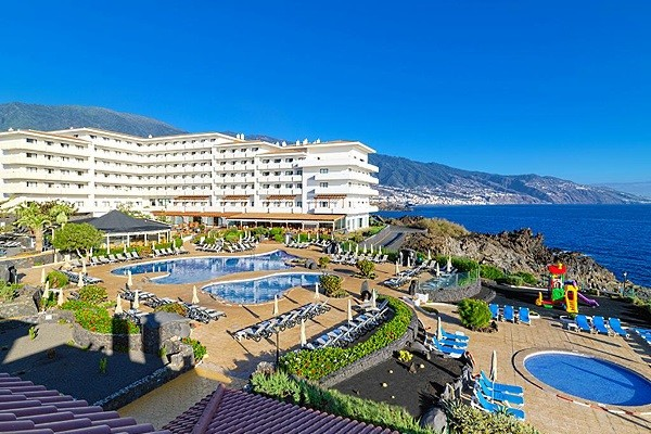 Vue panoramique - Hôtel H10 Taburiente Playa 4* La Palma Canaries