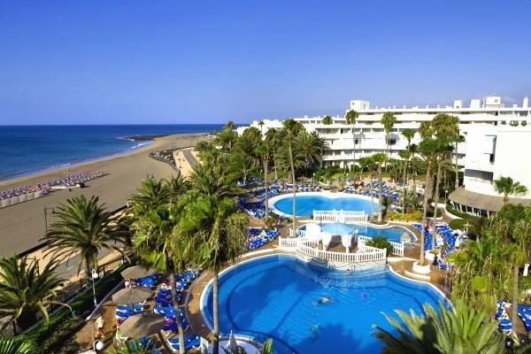 Piscine et plage - Sol Lanzarote