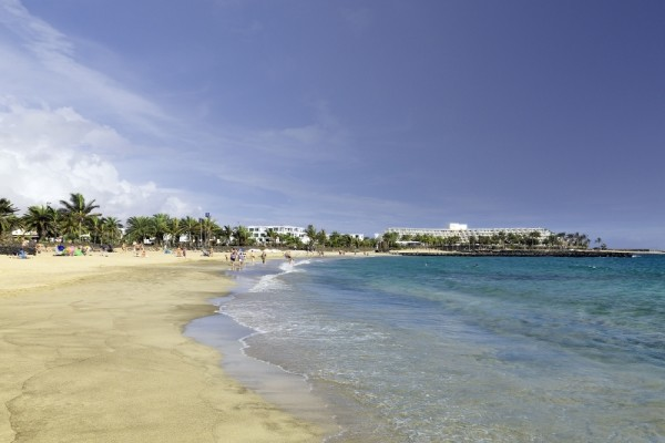 Plage - Hôtel Barcelo Teguise Beach 4* Lanzarote Canaries