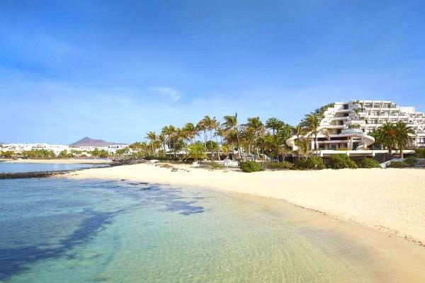 Plage - Hôtel Melia Salinas 5* Lanzarote Canaries