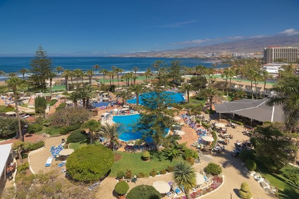 Piscine - Hôtel H10 Las Palmeras (sans transport) 4* Playa de las Américas Canaries