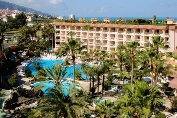 Vue panoramique - Hôtel Puerto Palace (sans transport) 4* Puerto de la Cruz Canaries